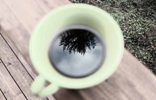 morning coffee reflection